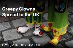 Creepy Clowns Spread to the UK