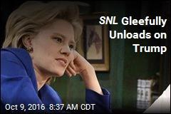 SNL Gleefully Unloads on Trump