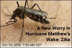 A New Worry in Hurricane Matthew's Wake: Zika
