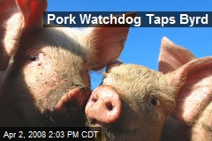 Pork Watchdog Taps Byrd