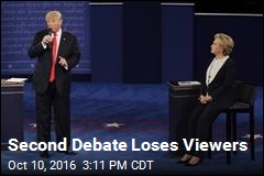Second Debate Loses Viewers