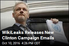 WikiLeaks Releases New Clinton Campaign Emails