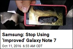 Samsung: Stop Using the Galaxy Note 7