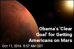 Obama: We'll Send Americans to Mars by 2030s