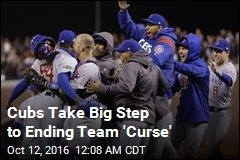 Cubs Take Big Step to Ending Team 'Curse'