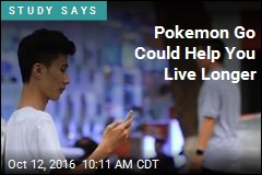 Pokemon Go Could Help You Live Longer
