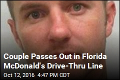 Couple Passes Out in Florida McDonald's Drive-Thru Line