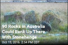 90 Rocks in Australia Could Rank Up There With Stonehenge