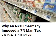 Why an NYC Pharmacy Imposed a 7% Man Tax