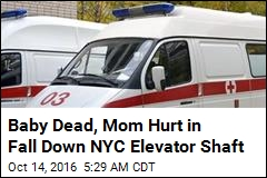 Baby Dies When Stroller Falls Down Elevator Shaft