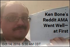 Ken Bone's Reddit AMA Went Well— at First