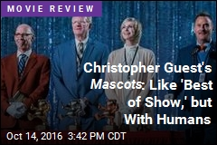 Cheer for Mascots , Even If It's Not Christopher Guest's Best