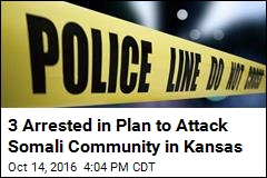 3 Arrested in Plan to Attack Somali Community in Kansas