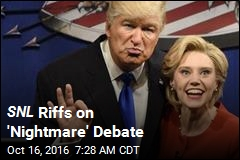 SNL Riffs on 'Nightmare' Debate