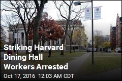 Striking Harvard Dining Hall Workers Arrested