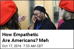 How Empathetic Are Americans? Meh
