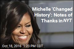 4 Moving Letters of Thanks to the First Lady