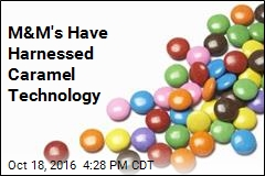 M&M's Have Harnessed Caramel Technology