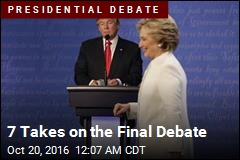 7 Takes on the Final Debate