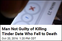 Man Not Guilty of Killing Tinder Date Who Fell to Death