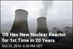 First US Nuclear Reactor of 21st Century Completed