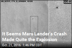 Image Appears to Prove Martian Lander Exploded
