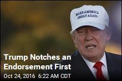 Trump Scores First Major Newspaper Endorsement