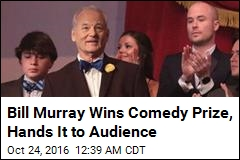 Bill Murray Awarded America's Top Comedy Honor