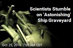 Chance Seafloor Find: 41 Shipwrecks