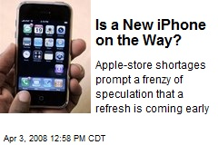Is a New iPhone on the Way?