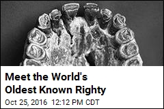 Meet the World's Oldest Known Righty