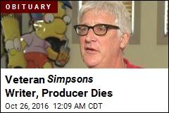 Simpsons Writer, Producer Kevin Curran Dies