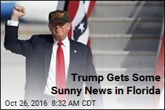 Trump Gets Some Sunny News in Florida