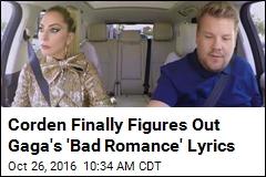 Gaga Sings Along to Gaga on Fun 'Carpool Karaoke'