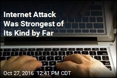 Internet Attack Was Strongest of Its Kind by Far