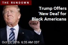 Trump Offers 'New Deal' for Black Americans