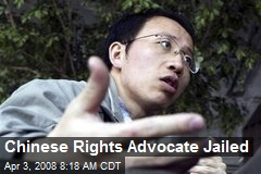 Chinese Rights Advocate Jailed