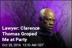 Lawyer Says Clarence Thomas Groped Her at Party