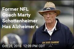 Former NFL Coach Marty Schottenheimer Has Alzheimer's