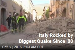 Italy Rocked by Biggest Quake Since '80