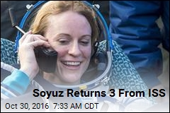 Soyuz Returns 3 From ISS