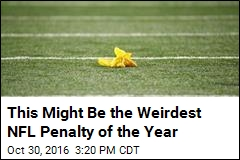 This Might Be the Weirdest NFL Penalty of the Year