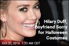 Hilary Duff 'So Sorry' for Halloween Costume