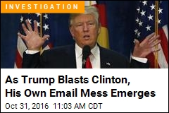 October Surprise: Trump Also Accused of Deleting Emails