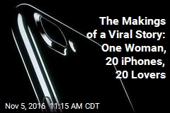 The Makings of a Viral Story: One Woman, 20 iPhones, 20 Lovers