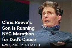 Chris Reeve's Son Is Running NYC Marathon for Dad's Cause