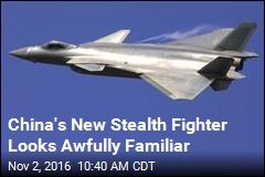China's New Stealth Fighter Looks Awfully Familiar