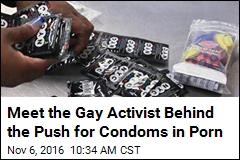 Meet the Gay Activist Behind the Push for Condoms in Porn