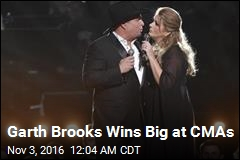 Garth Brooks Wins Big at CMAs