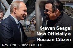 Putin-Seagal Bromance Just Got Serious